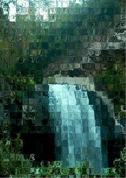 Looking Glass Abstract by Ginger Egerton