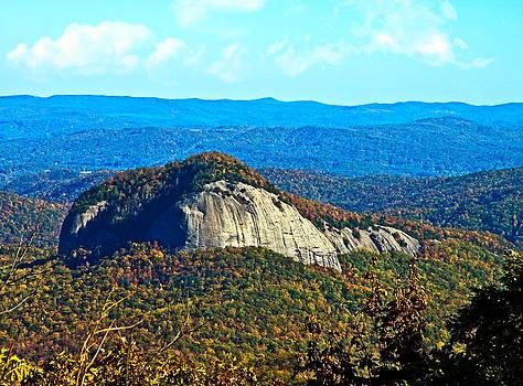 Looking Glass Mountain Blue Ridge Parkway by Susan Leggett