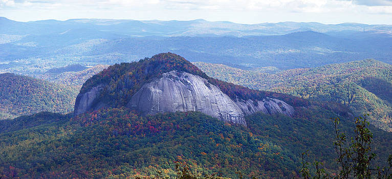 Looking Glass Rock in the Fall 3 by Duane McCullough