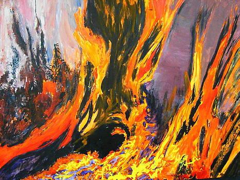 Looks like Hell by AnnE Dentler