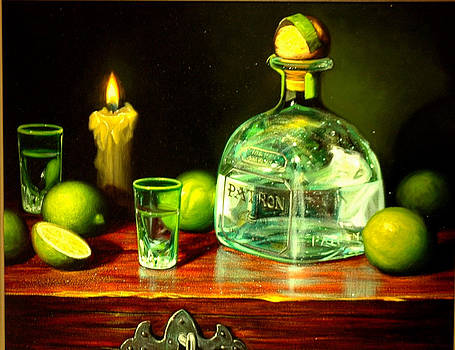 Los limones con tequila by William Martin