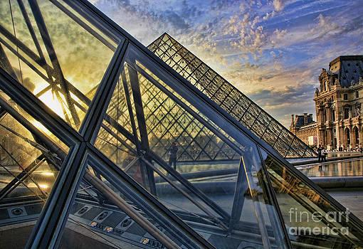 Chuck Kuhn - Louvre Angles