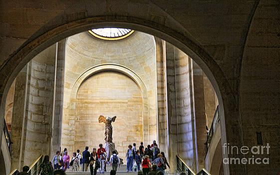 Chuck Kuhn - Louvre Interior I