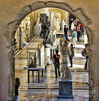 Chuck Kuhn - Louvre Interior II