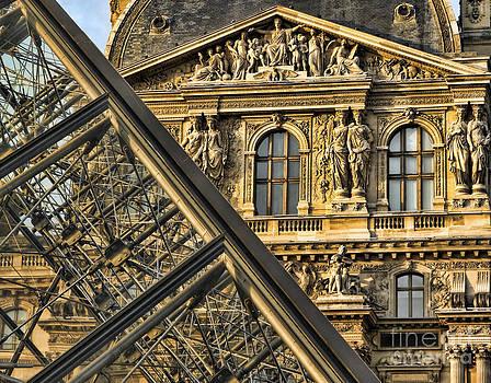 Chuck Kuhn - Louvre Paris