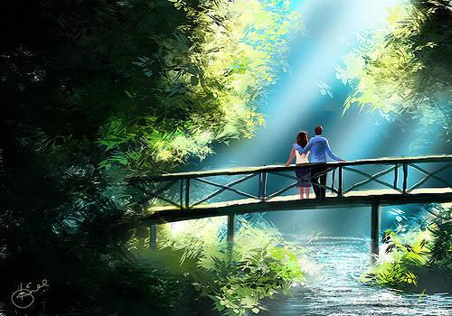 Love and Light  by Kiran Kumar
