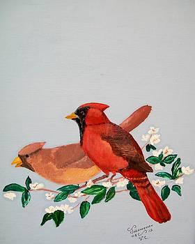Love Blossems   unframed by Al  Johannessen