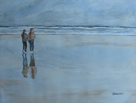 Jenny Armitage - Low Tide at Agate Beach