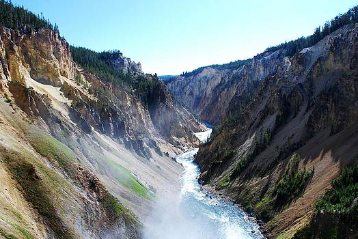 Lower falls - Yellowstone by Dany Lison