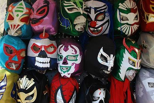 Lucha LIbre by Louie Villa