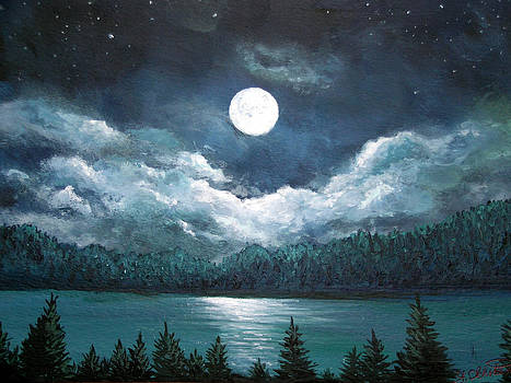 Luminous Lake by Amy Scholten