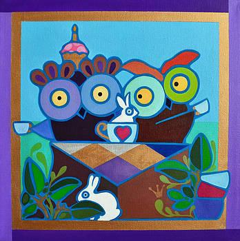 Mad Owl Tea by Jenny Valdez
