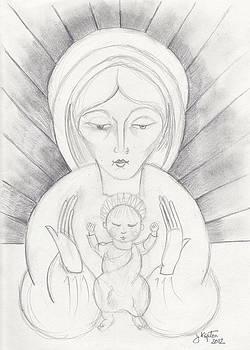 Madonna and Child by John Keaton