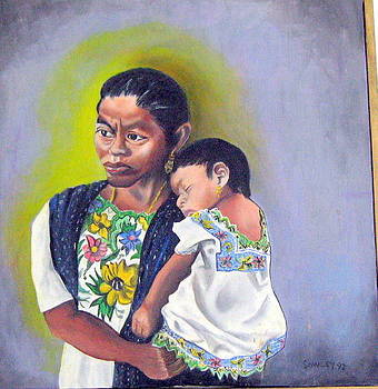 Madre and Nina by John Sowley