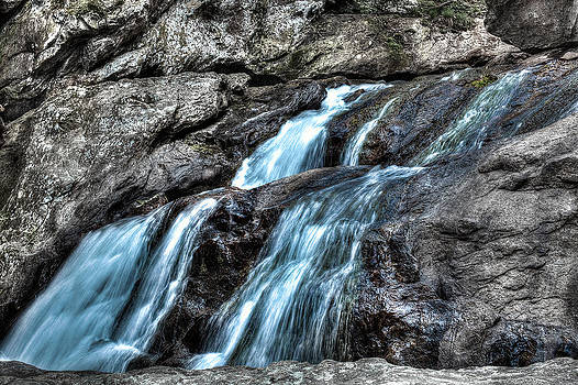 Magic of Waterfalls by Walt Stoneburner