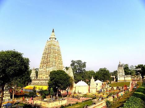 Maha Bodhi Temple by Sachin Manawaria