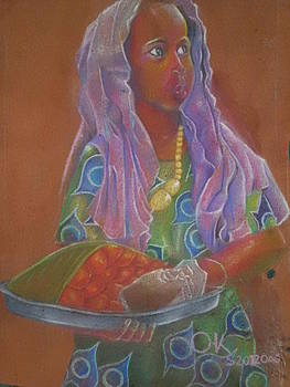 Maimuna the kabalagala girl  by Kenneth Otelu