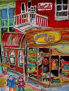 Main Street Everywhere by Michael Litvack