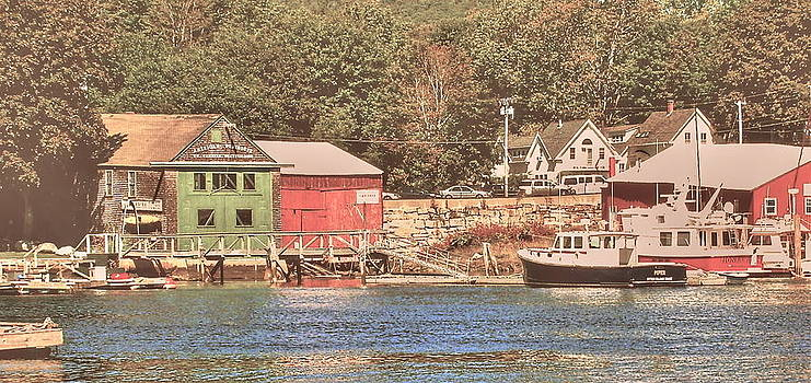 Frank SantAgata - Maine Fishing Village