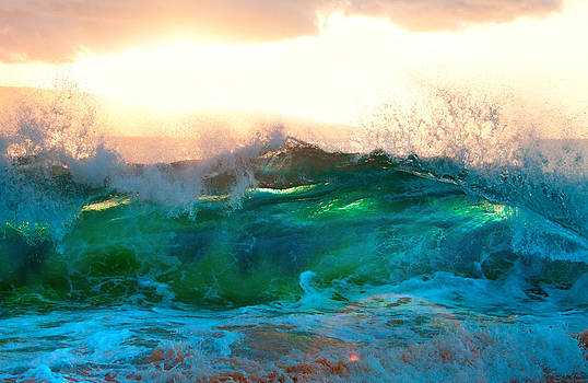 Makena Sunset Wave by Monica and Michael Sweet