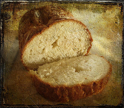 Man shall not live by bread alone by Beckie Fitgerald