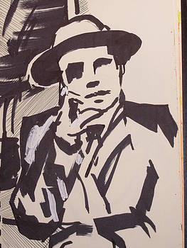 Man With Hat by Thomas OMara