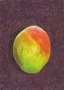 Steve Asbell - Mango on Plum