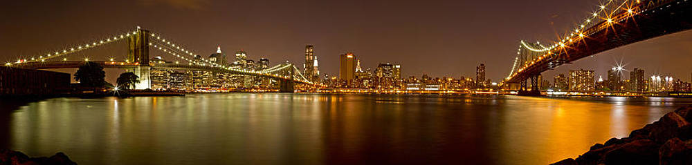 Val Black Russian Tourchin - Manhattan at Night Panorama 5