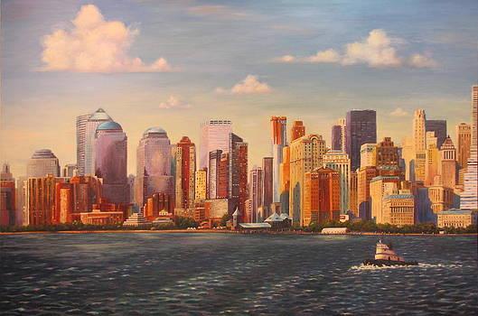 Manhattan  Nyc by Dan Fusco