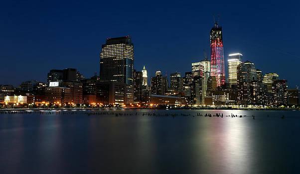 Larry Marshall - Manhattan Skyline at Night