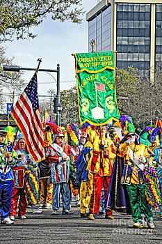 Kathleen K Parker - Marching Corner Club 2 - Mardi Gras New Orleans