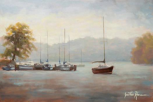 Marina Blue by Jonathan Howe