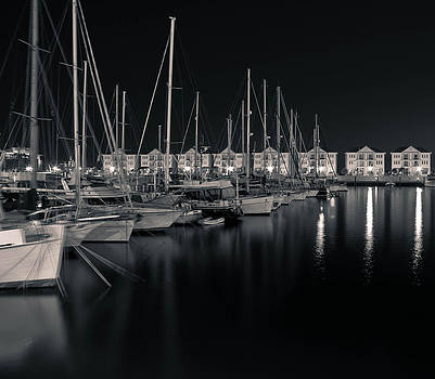 Marina in Black and White by Eva Stachova