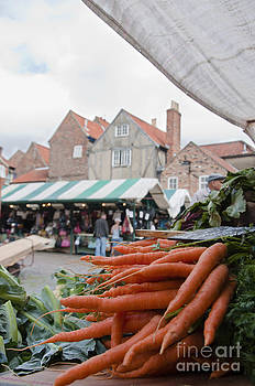 Marketplace in York by Andrew  Michael