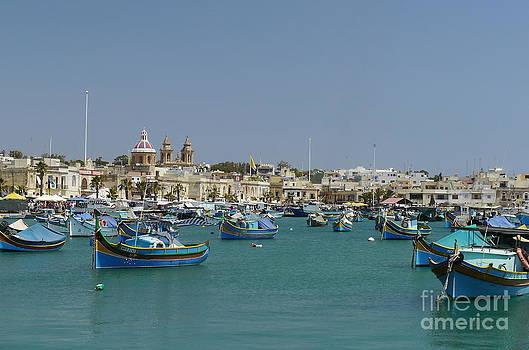 John Chatterley - Marsaxlokk Harbour