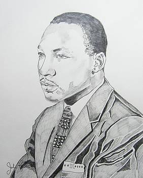 Martin Luther King Jr. by John Keaton