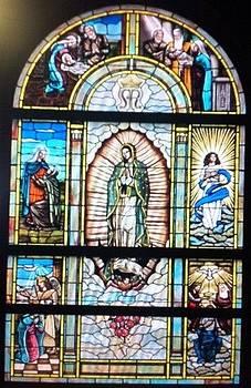 Mary's Life Window by Patrick RANKIN
