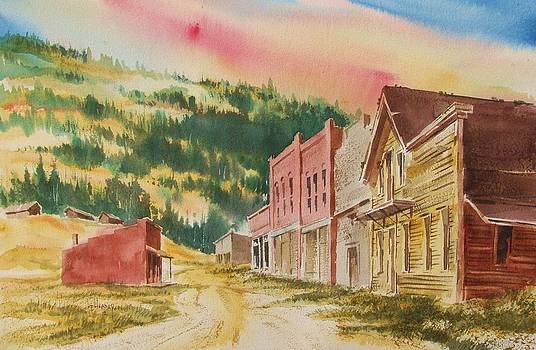 Marysville Ghost Town Montana by Kevin Heaney
