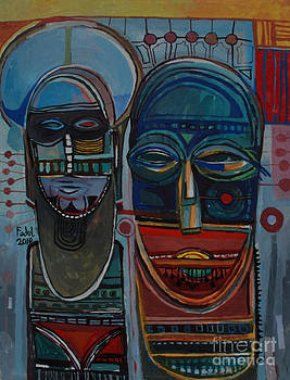 Masks by Mohamed Fadul