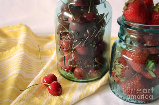 Mason Jar Fruit by Anna Crowder