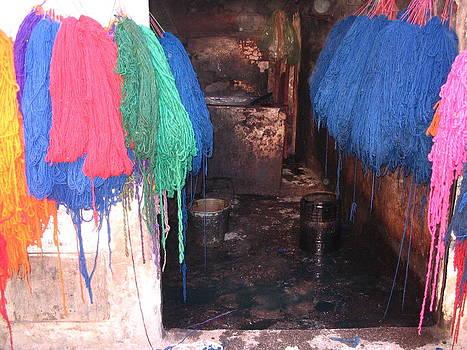 Yvonne Ayoub - Medina Marrakesh dyed wool