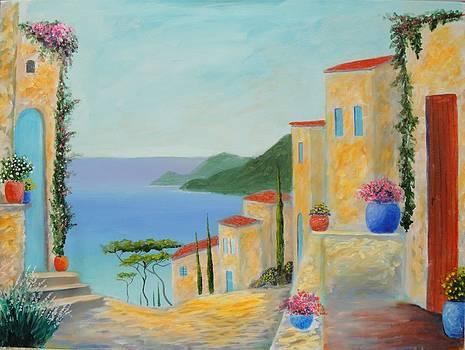 Mediterranean Haven by Larry Cirigliano