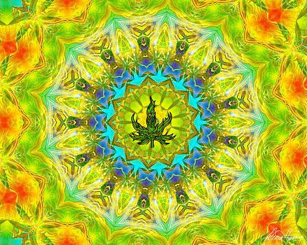 Diana Haronis - Mellow Yellow Mandala
