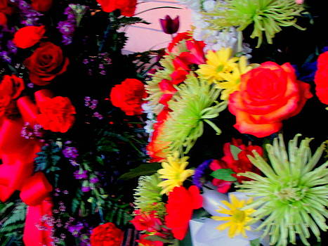Memorial Bouquets by Amy Bradley