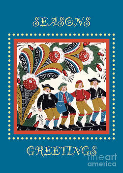Leif Sodergren - Men Dancing under a Kurbits