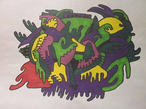 Menominee Conglamoration by Grant Van Driest