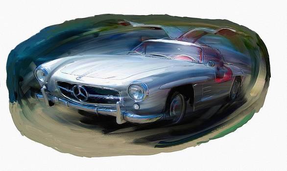 RG McMahon - Mercedes Gullwing