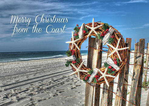 Merry Christmas from the Coast by Lynn Jordan