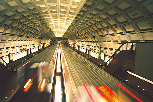 Metro Commute by Claude Taylor