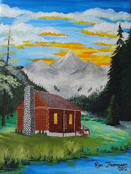 MHigh Mountain Dream by Ron Thompson